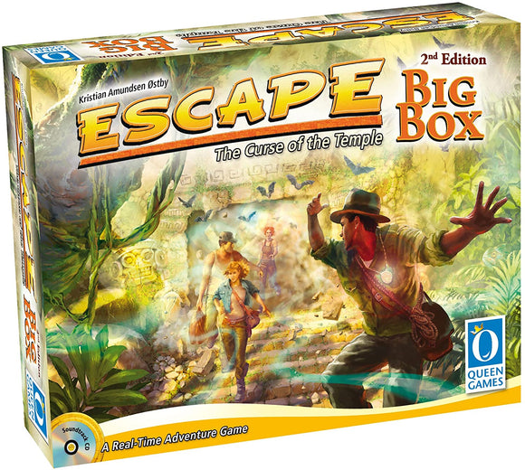 Escape The Curse of the Temple Big Box