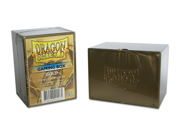 Dragon Shield Gaming Deck Box Gold (20006)