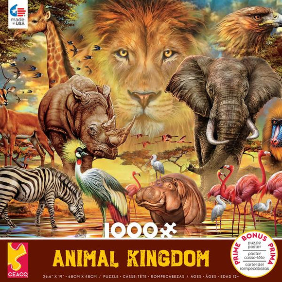 Animal Kingdom Savannah 1000pc Puzzle