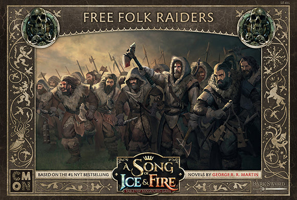 A Song of Ice and Fire Miniatures Game: Free Folk Raiders