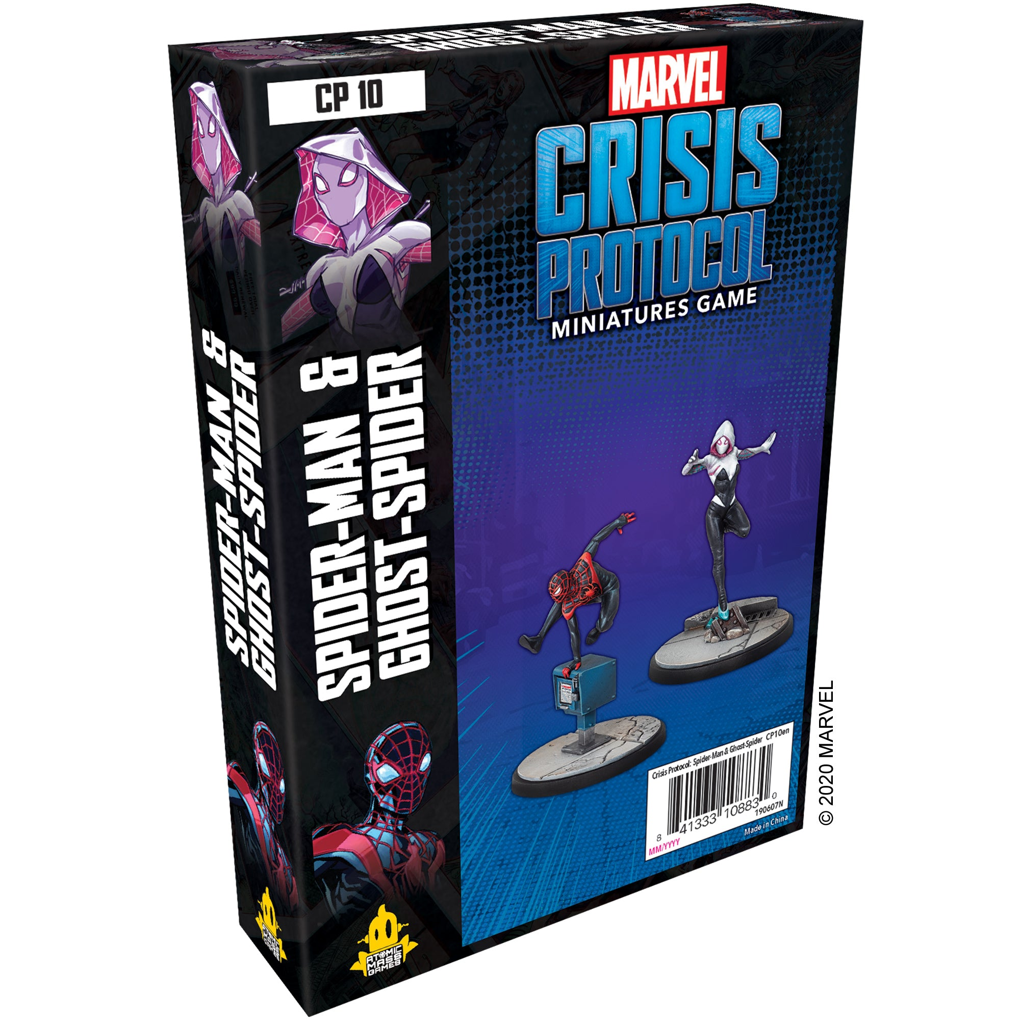 Marvel Crisis Protocol: Spider-man & Ghost Spider – Common Ground Games