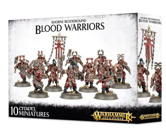 Warhammer Age of Sigmar Khorne Bloodbound Blood Warriors