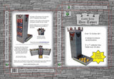 Role 4 Initiative Castle Keep Dice Tower with Magnetic Initiative Turn Tracker