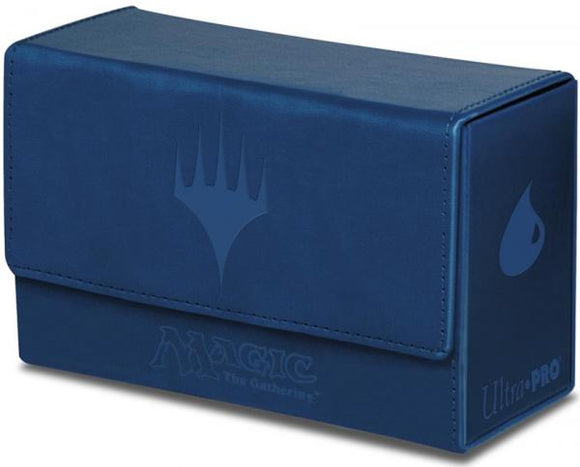 Ultra Pro Dual Flip Deck Box Magic the Gathering Blue Mana (86128)