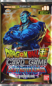 Dragon Ball Super TCG S6 Destroyer Kings Booster Pack