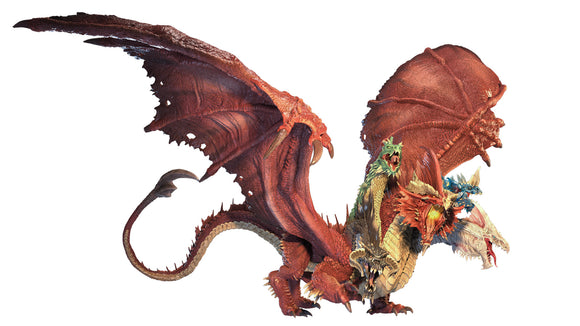 D&D Icons of the Realms Miniature: Gargantuan Tiamat (96105)