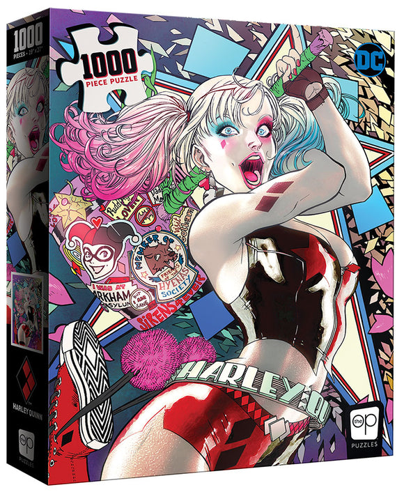 Harley Quinn - Die Laughing 1000pc Puzzle