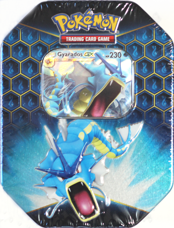 Pokemon TCG Hidden Fates Tin - Gyarados