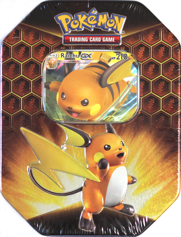 Pokemon TCG Hidden Fates Tin - Raichu