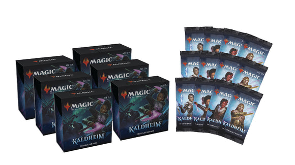 MTG: Kaldheim 6 PreRelease Kit Bundle