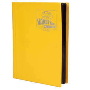 Monster Binder 4pkt Matte Yellow