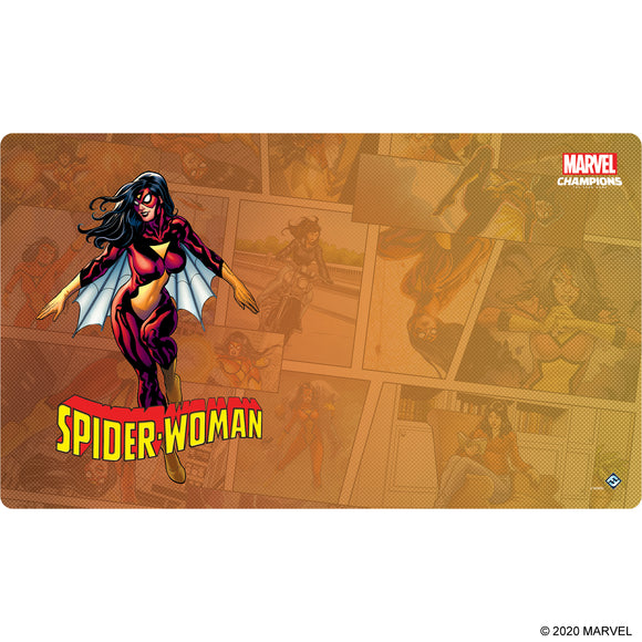 Playmat: Spider-Woman