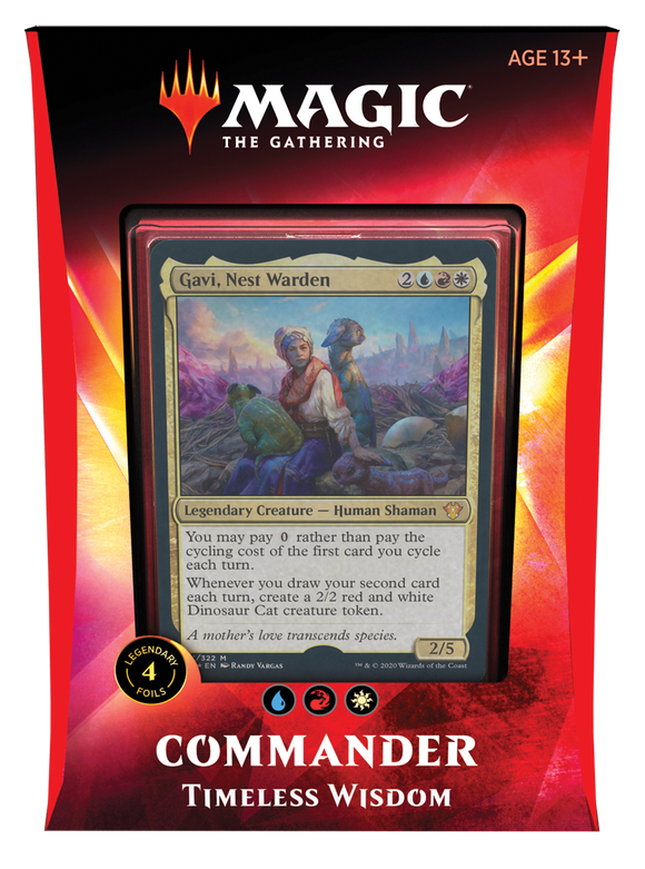 MTG: Commander 2020 Timeless Wisdom