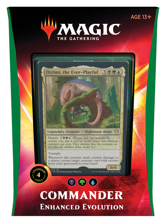 MTG: Commander 2020 Enhanced Evolution