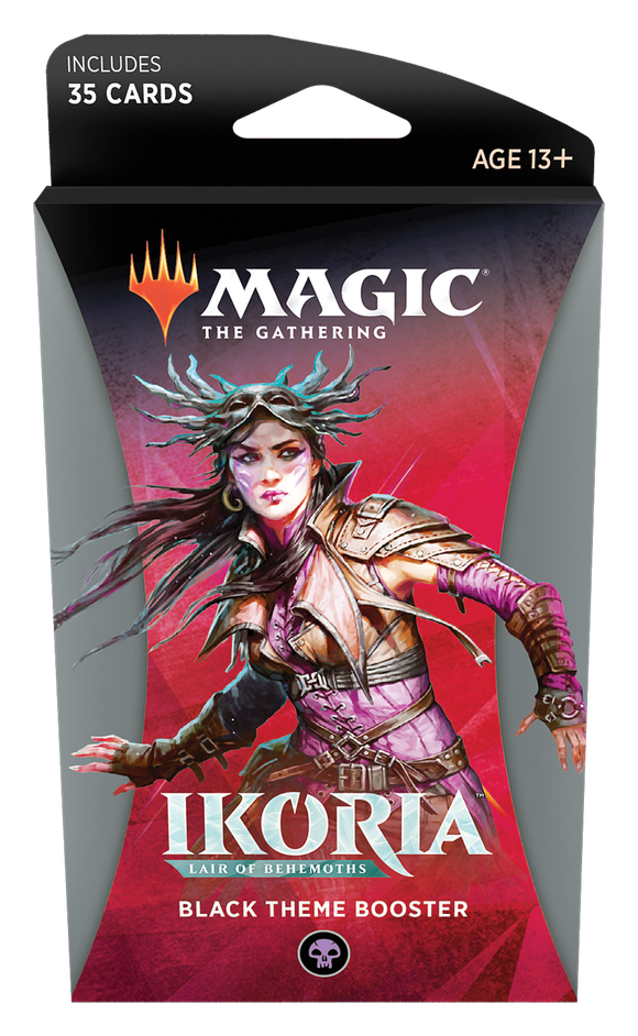 MTG: Ikoria Theme Booster Black