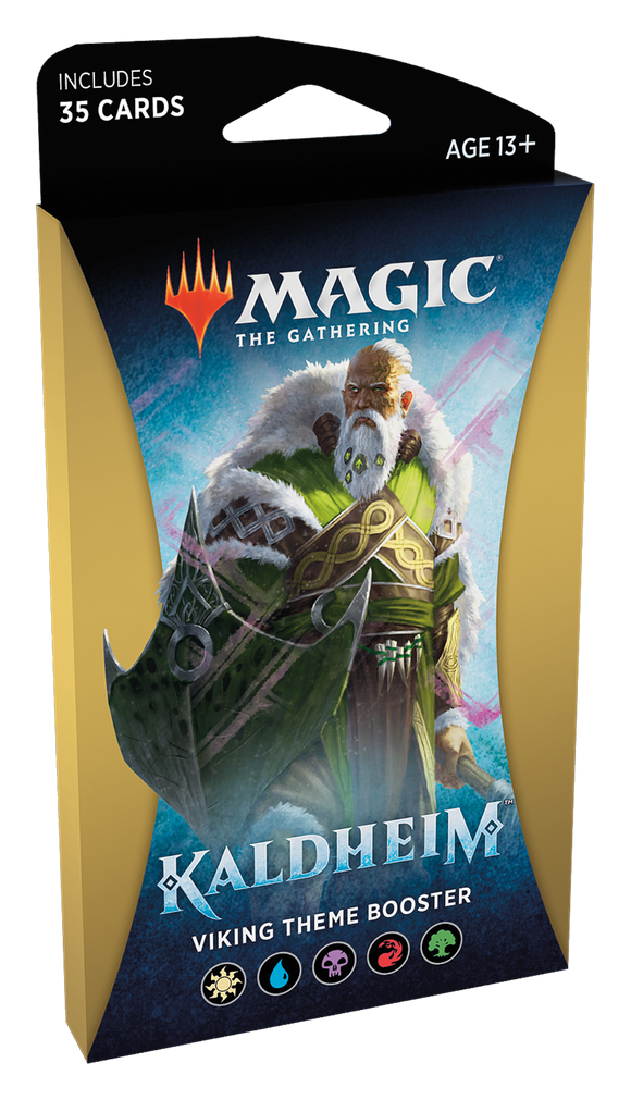 MTG: Kaldheim Viking Theme Booster