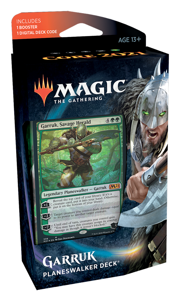 MTG: Core 21 Planeswalker Deck Green