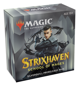MTG: Strixhaven Prerelease Pack - Silverquil (Black/White)