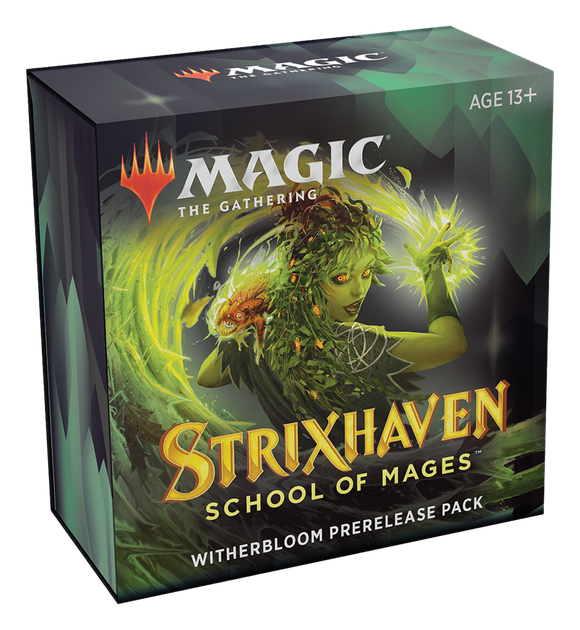 MTG: Strixhaven Prerelease Pack - Witherbloom (Black/Green)