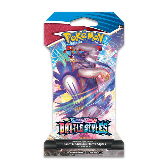 PKMN: Battle Styles Sleeved Booster