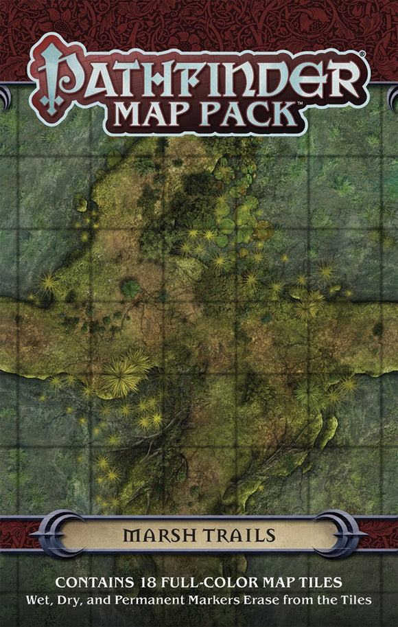 Pathfinder Map Pack Marsh Trails