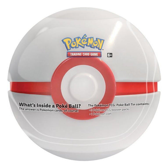 Pokemon TCG Premier Ball Tin