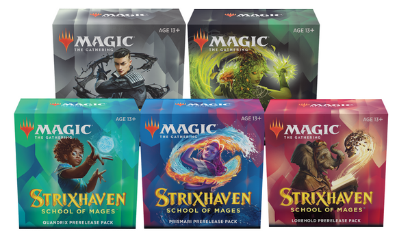 MTG: Strixhaven Prerelease Full Class Load Set