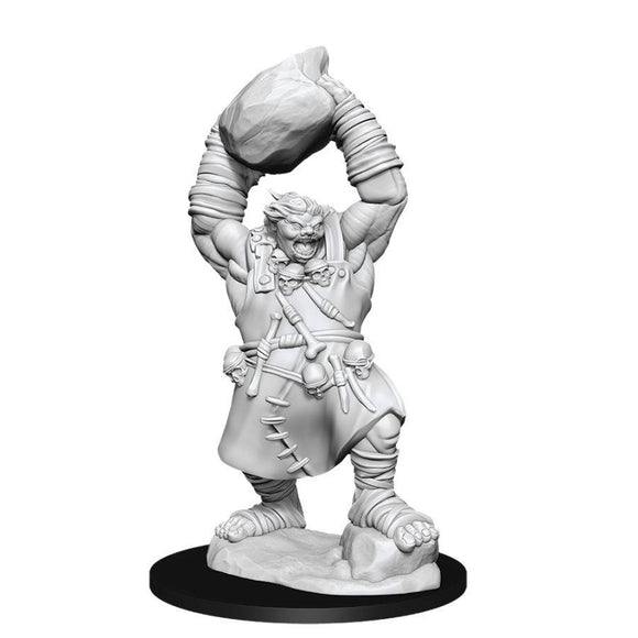 Pathfinder Deep Cuts Unpainted Miniatures: Ogre