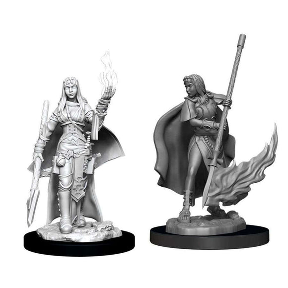 Pathfinder Deep Cuts Unpainted Miniatures: Female Human Oracle