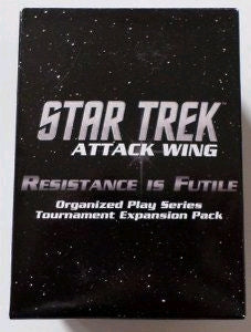 Star Trek Attack Wing Resistance is Futile Booster Pack