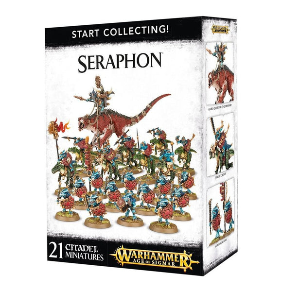 Warhammer Age of Sigmar Start Collecting! Seraphon