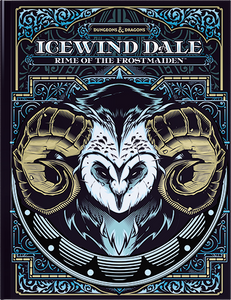 D&D 5e Icewind Dale: Rime of the Frostmaiden - Limited Edition Hobby Shop Cover