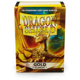Dragon Shield Classic Gold Sleeves 100ct (10006)