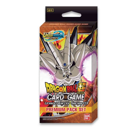 Dragon Ball Super TCG Unison Warrior Series 03 Premium Pack Set