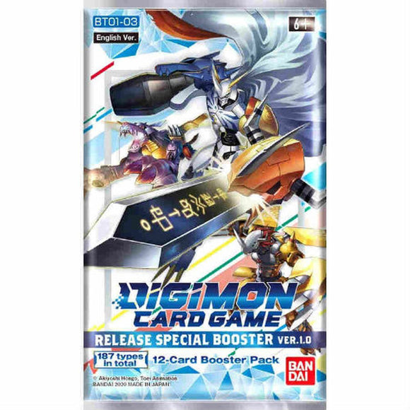 Digimon TCG v1.0 Booster