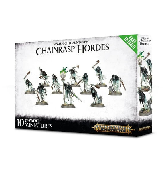 Warhammer Age of Sigmar Easy to Build Nighthaunt Chainrasp Hordes