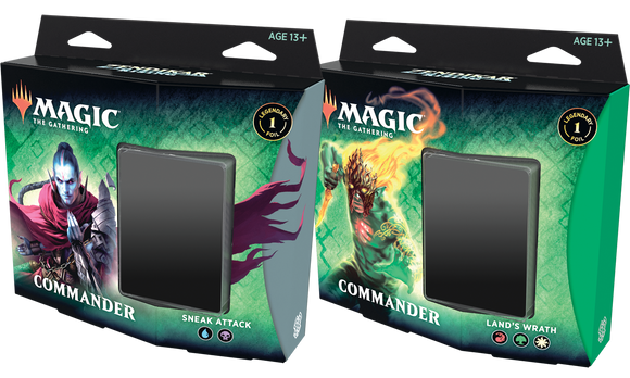 MTG: Zendikar Rising Commander Set