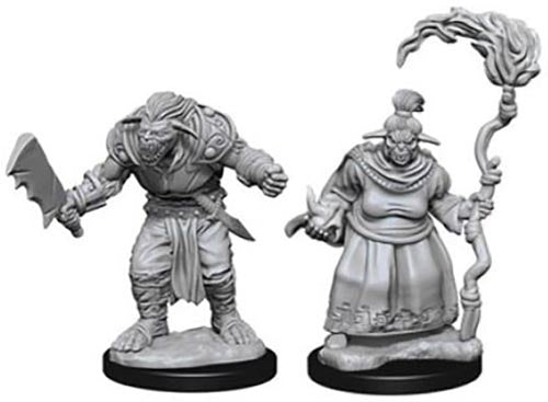 Pathfinder Deep Cuts Unpainted Miniatures: Bugbears