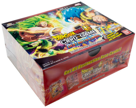 Dragon Ball Super TCG S6 Destroyer Kings Booster Box