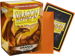 Dragon Shield Classic Orange Sleeves 100ct (10013)