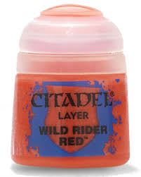 Citadel Layer Wild Rider Red