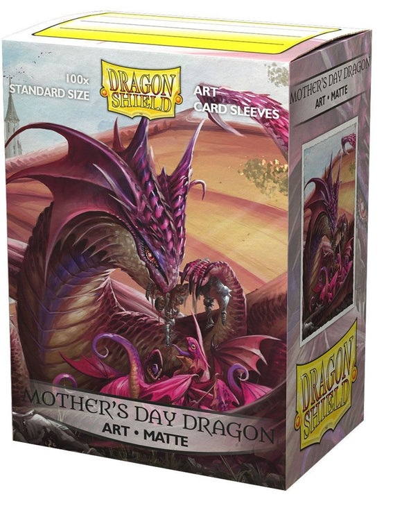 Dragon Shield Matte Art Standard Sleeves 100ct Mother's Day 2020 (12048)