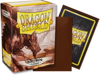 Dragon Shield Classic Brown Sleeves 100ct (10011)