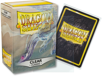Dragon Shield Classic Clear Sleeves 100ct (10001)