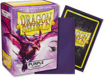 Dragon Shield Classic Purple Sleeves 100ct (10009)