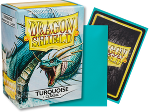 Dragon Shield Classic Turquoise Sleeves 100ct (10015)