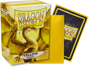 Dragon Shield Classic Yellow Sleeves 100ct (10014)