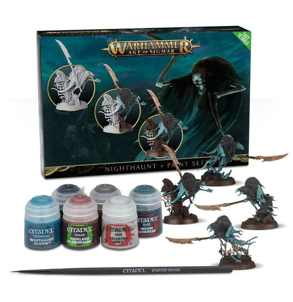 Warhammer Age of Sigmar Nighthaunt & Paint Set