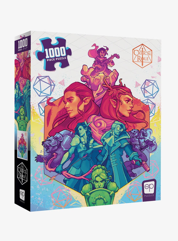 Critical Role Vox Machina Puzzle
