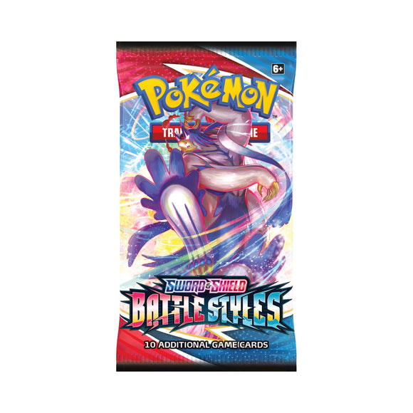 Pokemon TCG Sword & Shield Battle Styles Booster Pack
